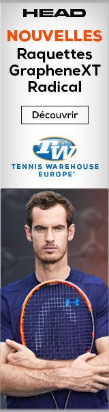 Les nouvelles Radical sont en vente sur Tennis Warehouse