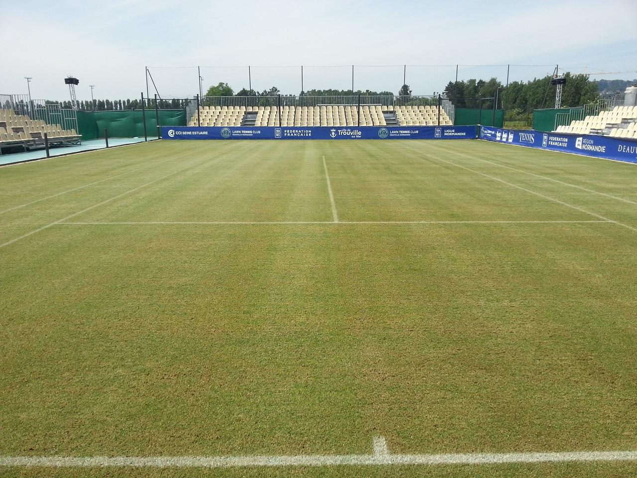 Cour Central Lawn Tennis Club Deauville-Normandie