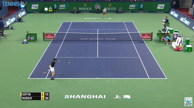 Andy Murray n'a pas de faiblesse. Il est impressionnant.