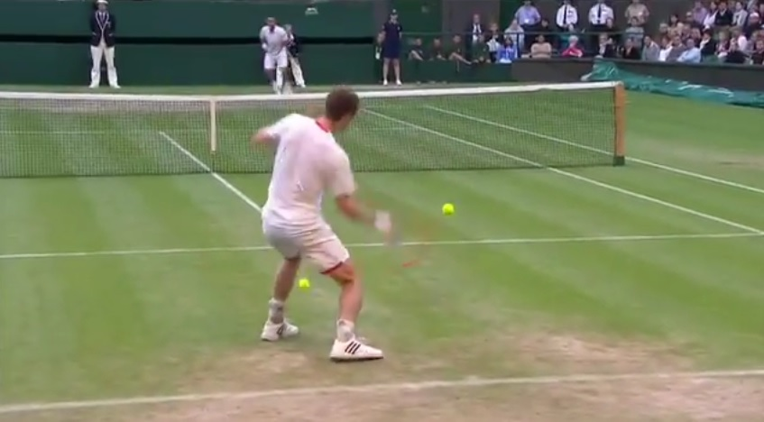 Andy Murray a perdu plusieurs points à cause de son short contre Marcos B