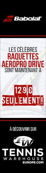 Promo sur les Babolat AeroPro Drive