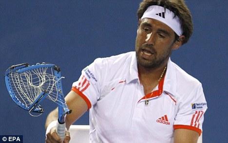 Le craquage légendaire de Marcos Baghdatis à l'Open d'Australie 2012.