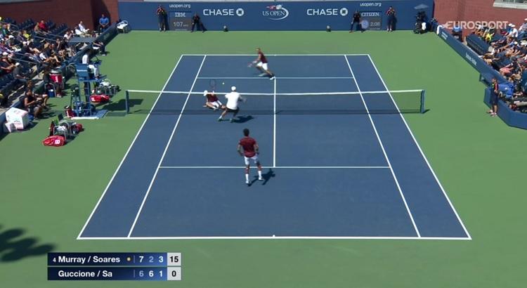 Jamie Murray et Bruno Soares ont gagné le tournoi et ils ont régalé.
