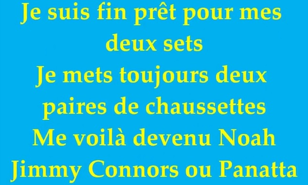 Le Top 5 des chansons françaises sur le tennis