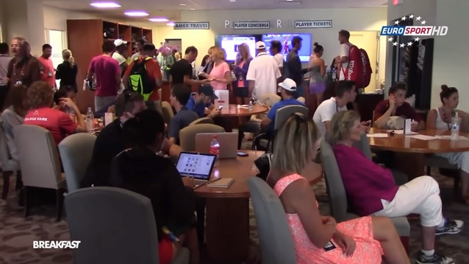 Alizé Cornet nous fait entrer dans les coulisses de l'US Open.