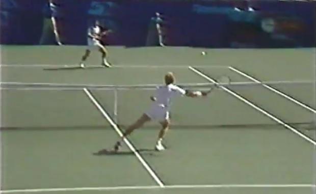 Edberg vs. Chang, une opposition de style qui a tenu ses promesses en demi-finales de l'US Open 1992.