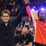 Roger Federer et Gaël Monfils font partie des gagnants aux Tennis Legend Awards 2014. (Crédit Panoramic)