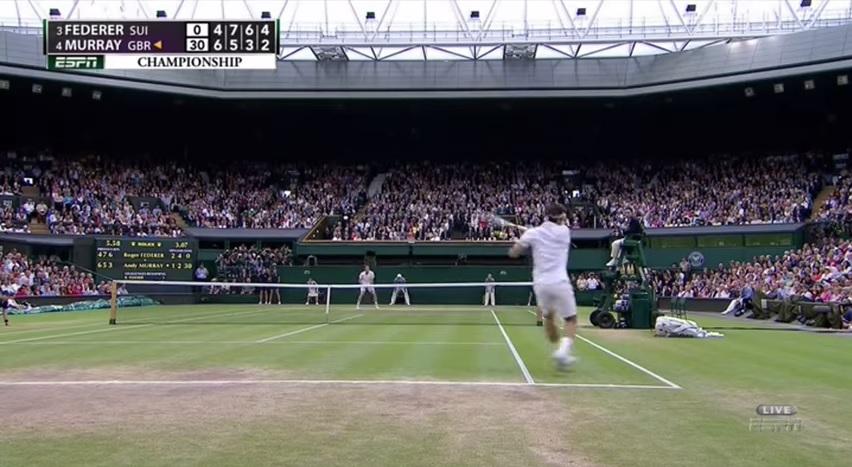 Le résumé de la finale de Wimbledon 2012.