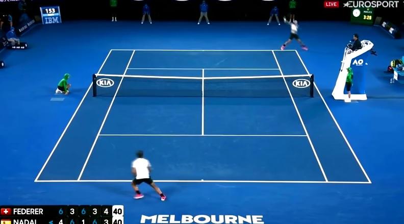 Cinq réactions de commentateurs après rallye hallucinant de la finale de l'Open d'Australie 2017