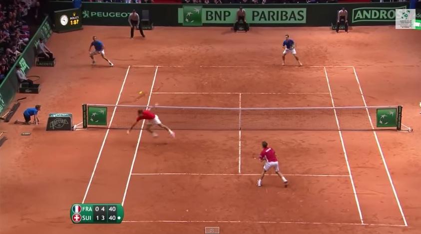 Roger Federer et Stan Wawrinka ont été énormes en double en finale de la Coupe Davis 2014.