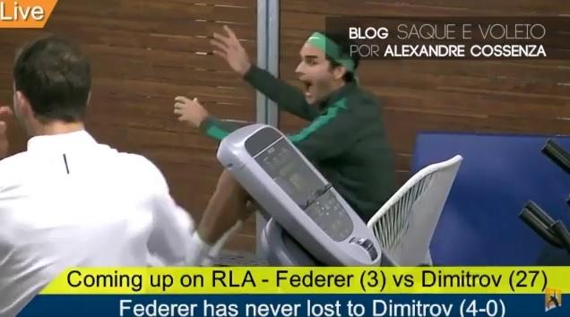 Le tennis coule dans les veines de Roger Federer.