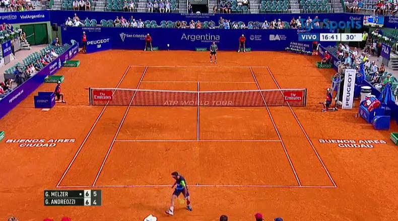 Gerald Melzer gagne un point vraiment énorme (Buenos Aires 2017)