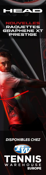 Les nouvelles Prestige sont disponibles chez Tennis Warehouse