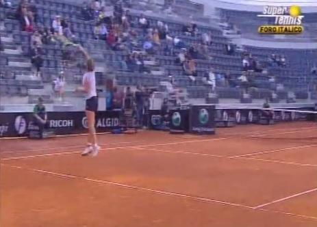 La belle prise de balle tôt de Svetlana Kuznetsova ou pas...