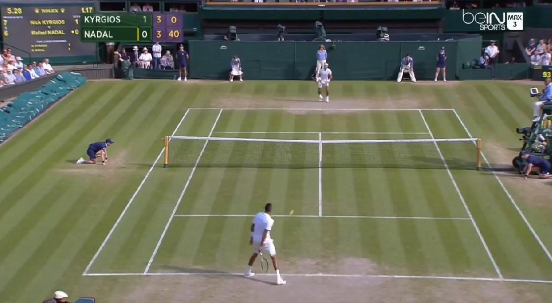 Nick Kyrgios aura marqué le tournoi de Wimbledon 2014.