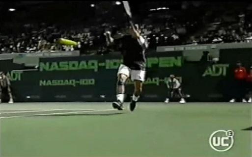 Marcelo Rios a tout fait à Juan Ignacio Chela en quarts de finale du Masters Series de Miami 2002.