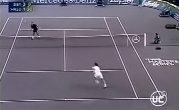 Les meilleurs points de Marcelo Rios. Une vidéo magique.