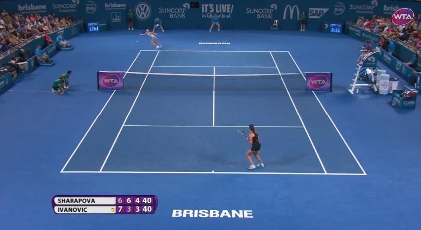 Wow ! Quel retour de Maria Sharapova !