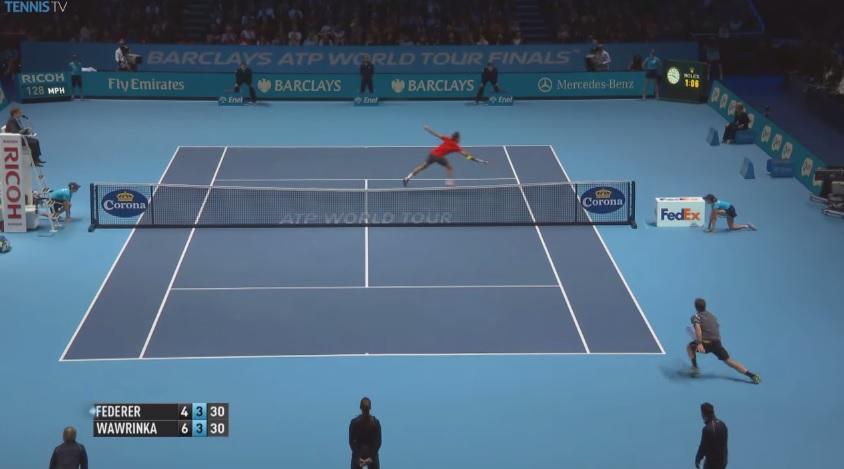 Les plus beaux points des demi-finales du Masters 2014.
