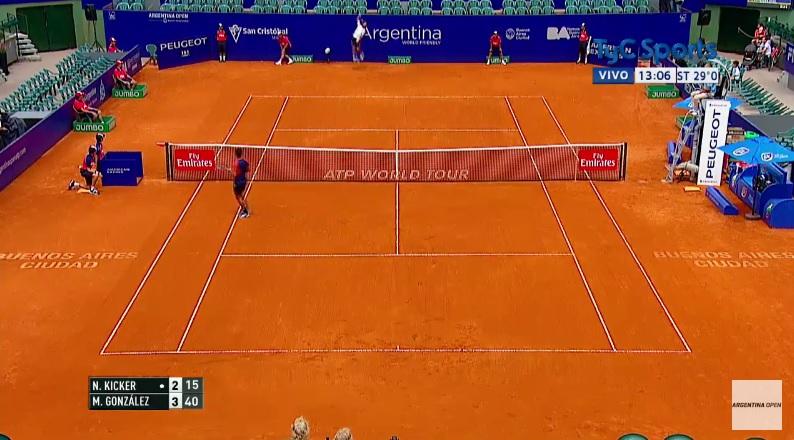 Le smash sur un smash de Maximo Gonzalez (Buenos Aires 2017)