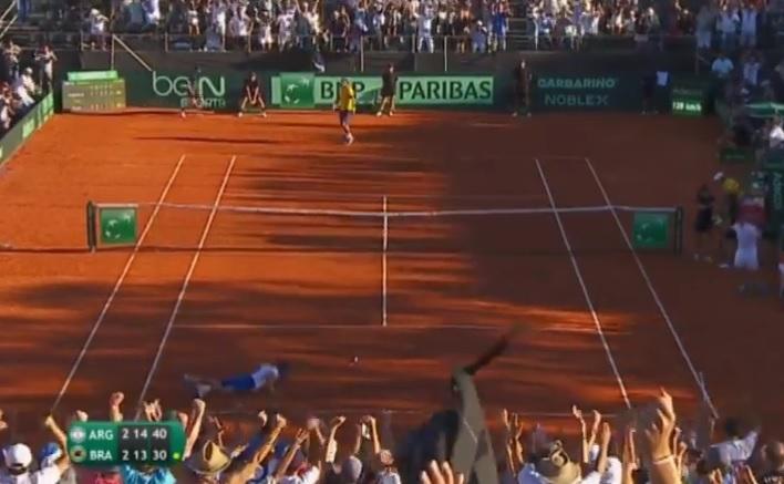 Leonardo Mayer et Joao Souza sont entrés dans l'histoire du tennis.
