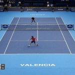 Le point du jour entre Fernando Verdasco et Leonardo Mayer au tournoi de Valence 2014.