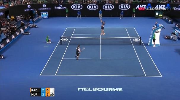 Andy Murray et Milos Raonic ont livré un beau combat.