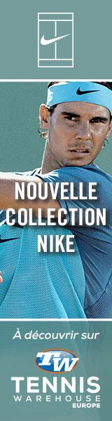 La nouvelle collection Nike est sur Tennis Warehouse