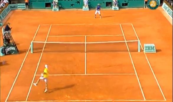 Paul-Henri Mathieu a livré un match énorme contre Rafael Nadal au troisième tour de Roland Garros 2006.