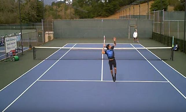 La première vidéo de Pablo Schurig partagée sur Tennis Legend.