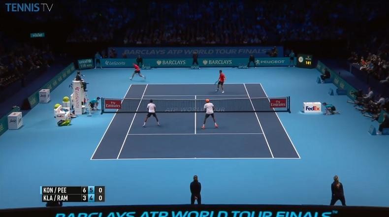 John Peers et Henri Kontinen enchaînent les hot shots au Masters 2016 de double.