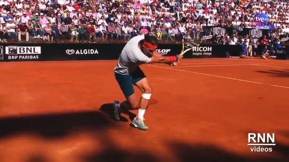 Rafael Nadal, le roi de la terre battue et des passing-shots.
