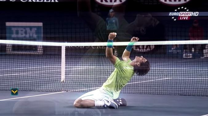 Cette vidéo sur Rafael Nadal va vous donner des frissons.