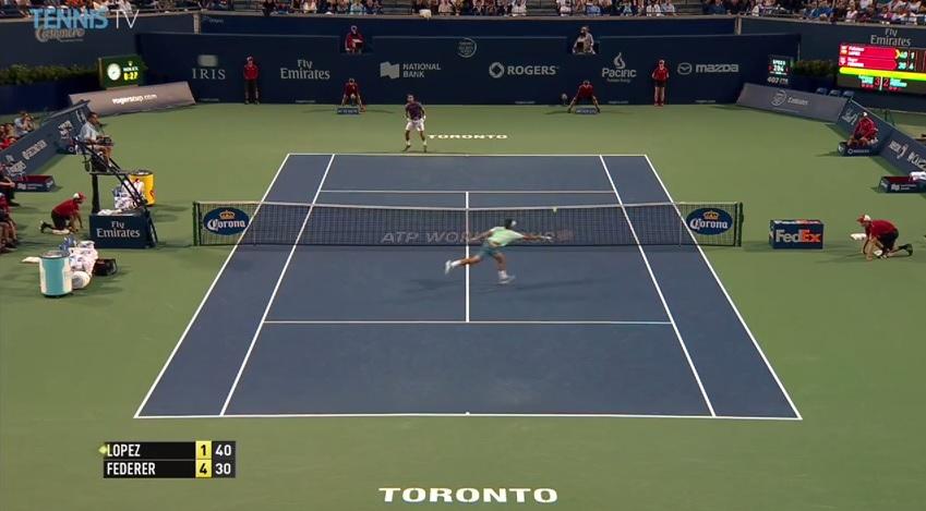 Roger Federer est toujours aussi présent