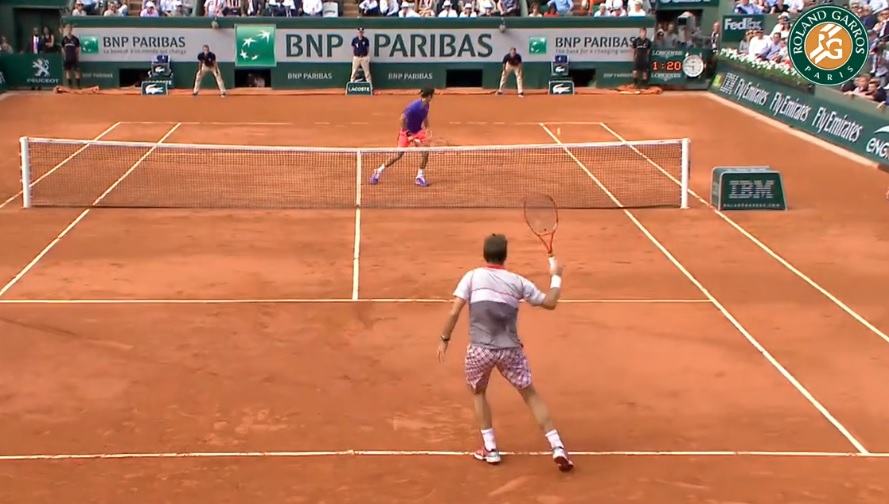 Stan the Man a été sélectionné parmi les meilleurs points du Jour 10 à Roland Garros.