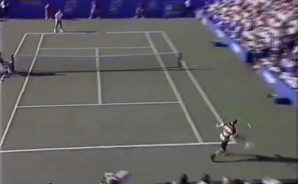 Du tennis ping-pong entre Sampras et Agassi en finale de l'US Open 1995.