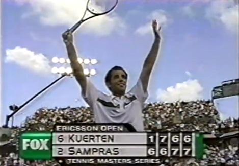 Pete Sampras a bataillé pour dominer