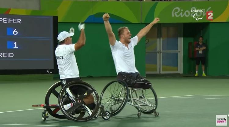 Stéphane Houdet et Nicolas Peifer sont champions paralympiques !
