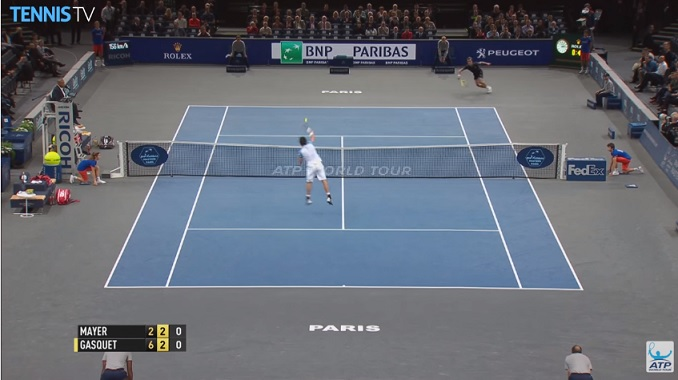 Les meilleurs points du Masters 1000 de Paris 2015.