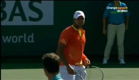 Baston de regards entre Jo-Wilfried Tsonga et Radek Stepanek.
