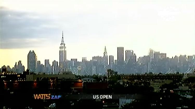 Le zapping de l'US Open 2012.