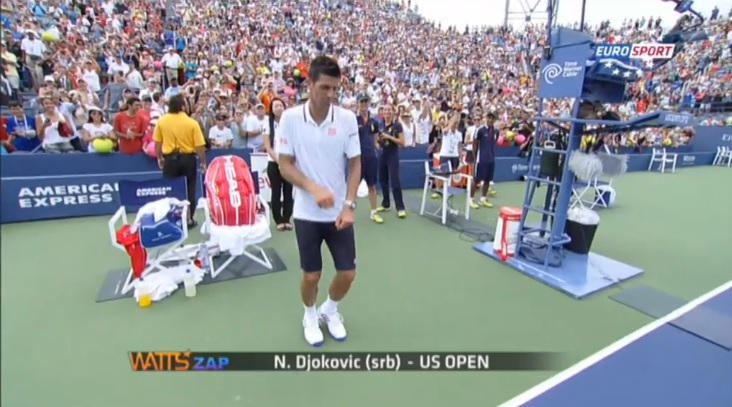 Le zapping de l'US Open 2014.