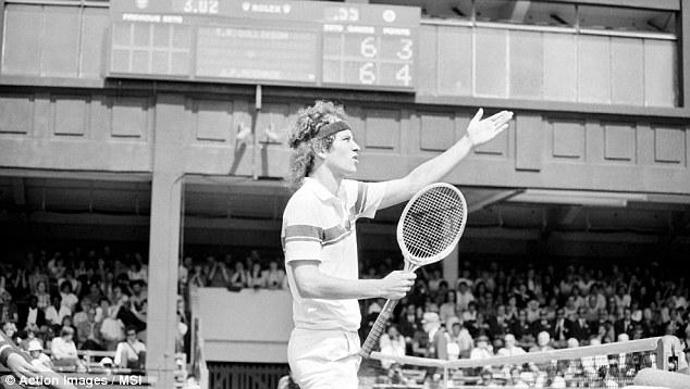 John McEnroe, la légende des pétages de plombs.