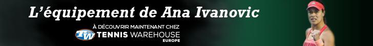 L'équipement complet d'Ana Ivanovic