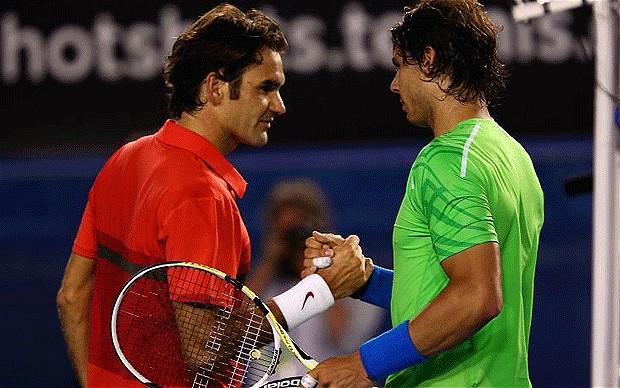 Nadal Federer (Getty Images)