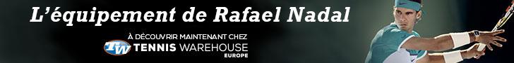 L'équipement complet de Rafa Nadal