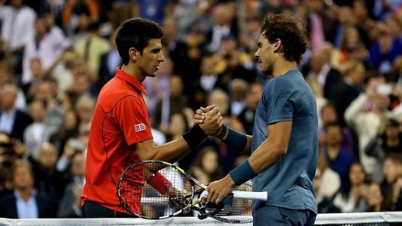 """Novak Djokovic et Rafael Nadal sont nominés pour le """"Rallye de l'année 2013"""""""