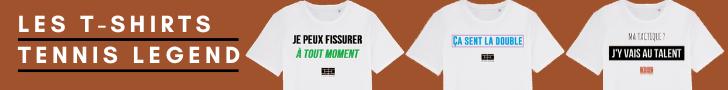 Les t-shirts Tennis Legend