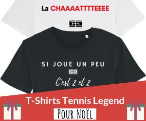 Cadeaux de Noël : les T-Shirts Tennis Legend