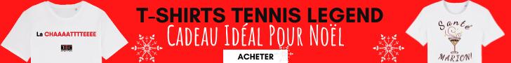 Le cadeau de Noël Tennis idéal
